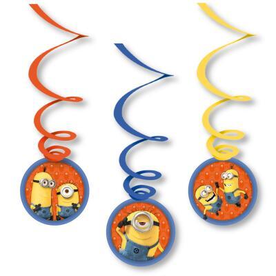 Minions Deko-Spiralen