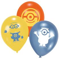Minions Luftballons 6 Stück