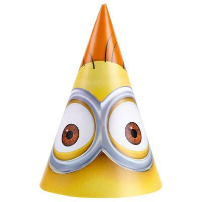 Minions Party - Hütchen 6 Stück