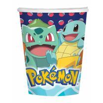 Pokemon - 8  Pappbecher 0,25 l