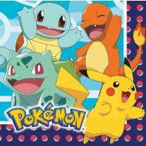 Pokemon -16 Servietten 33 x 33 cm