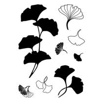 Efco (933) clear stamps Stempel Set - Gingko