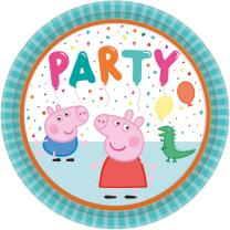 64-teiliges Party-Set Peppa Wutz - Pig - Teller Becher...