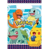 Pokemon  - 8 Partytüten - Tüten für Mitgebsel