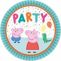 63-teiliges Party-Set Peppa Wutz - Teller Becher...
