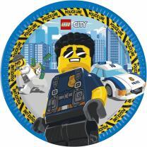 44-teiliges Party-Set Lego City - Teller Becher...