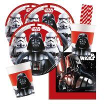 44-teiliges Party-Set Star Wars Final Battle - Teller...