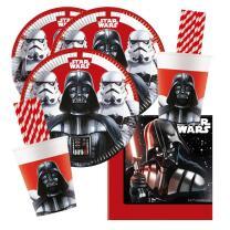 68-teiliges Party-Set Star Wars Final Battle - Teller...