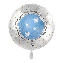 Folienballon 43 cm - Taufe - Kleines großes...