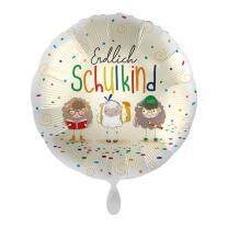 Folienballon 43 cm - Endlich Schulkind - Schafe