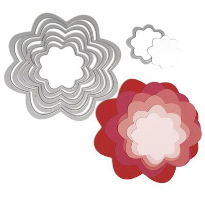 Sizzix Framelits Stanzschablone Blumen (553)