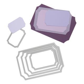 Sizzix Framelits Stanzschablone Tickets (569)