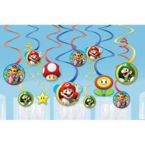Super Mario Dekospiralen, 12 Stück