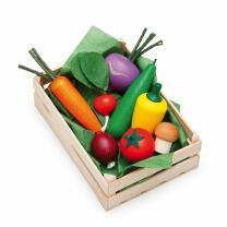 Erzi 28110  Sortiment Gemüse Kaufladenzubehör