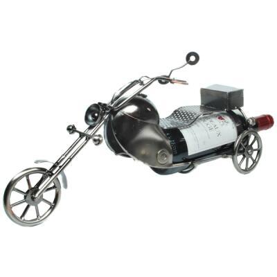 """Metall - Flaschenhalter """"Motorrad"""""""