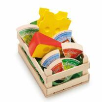 Erzi 28236  Sortiment Käse klein Kaufladenzubehör
