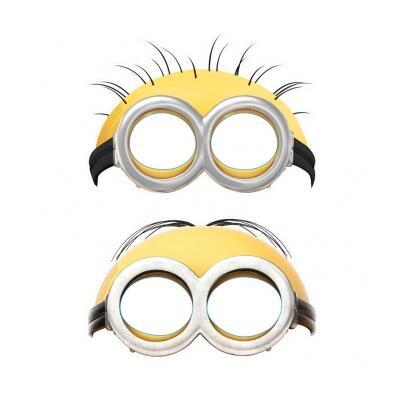 Minions Gesichtsmasken 6 Masken pro Packung