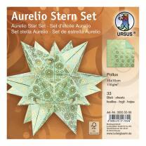 Aurelio Stern Set Faltblätter 15 x 15 cm - Pollux...