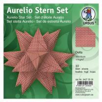 Aurelio Stern Set Faltblätter 15 x 15 cm - Delta...