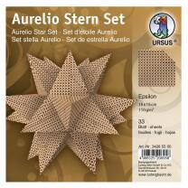Aurelio Stern Set Faltblätter 15 x 15 cm - Epsilon...