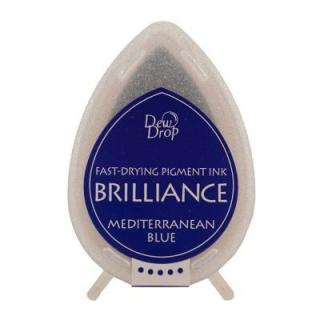Tsukineko Stempelkissen Dew Drop Brilliance (BD-18) Mediterranean Blue