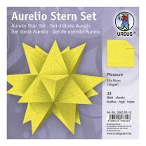 Aurelio Stern Set Faltblätter 15 x 15 cm - Pleasure...