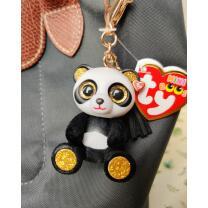 Mini Boos Clip/ Anhänger Panda Chi  6 cm