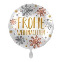 Folienballon 45 cm - Frohe Weihnachten