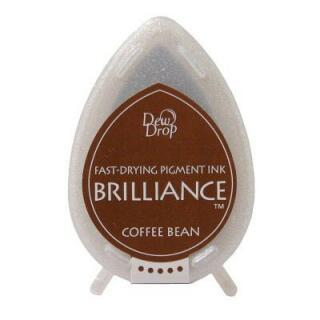 Tsukineko Stempelkissen Dew Drop Brilliance (BD-54) Coffee Bean