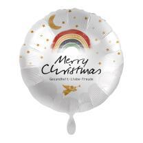 Folienballon 43 cm - Merry Christmas Gesundheit - Liebe -...