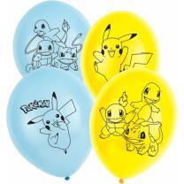 Pokemon - Luftballons , 6 Stück