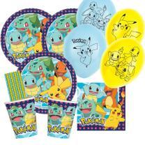 46-teiliges Party-Set Pokemon - Teller Becher Servietten...