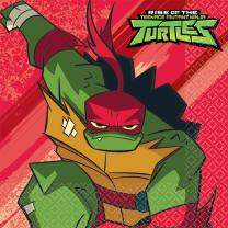 Ninja Turtles Servietten, 8 Stück 33 x 33 cm