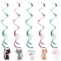 Katze - Kätzchen - Hängedeko 5-teilig