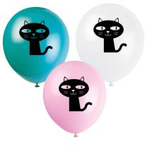 Katze - Kätzchen - Luftballons, 8 Stück