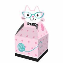 Katze - Kätzchen  -  Geschenkboxen - 8 Stück