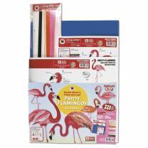 Karen Marie - Pretty Flamingos Quilling Set - 223 Teile