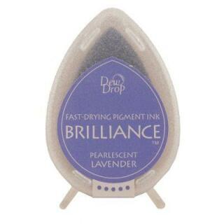 Tsukineko Stempelkissen Dew Drop Brilliance (BD-37) Pearlescent Lavender