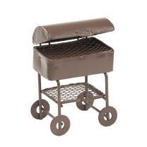 Miniatur Grillwagen aus Metall,  ca.7 cm