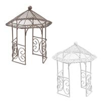Miniatur Pavillon aus Metall,  ca. 14 cm