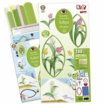Karen Marie - Quilling Anleitungsheft Tulpen