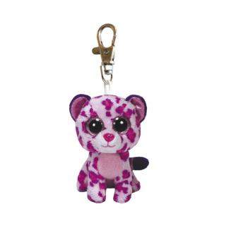 Ty Beanie Boos Glubschi Schlüsselanhänger Leopard - Glamour 8,5 cm