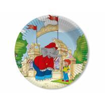 45-teiliges Party-Set - Elefant Benjamin Blümchen -...