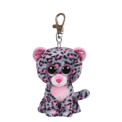 Ty Beanie Boos Glubschi Schlüsselanhänger Leopard - Tasha 8,5 cm