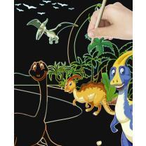 Mein magisches Kratzel Buch - Kratzbilder Drachen &...
