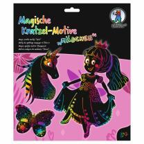 Magische Kratzel-Motive - Kratzbilder...