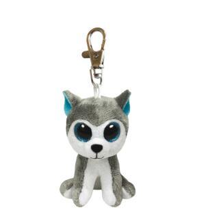 Ty Beanie Boos Glubschi Schlüsselanhänger Hund - Slush 8,5 cm