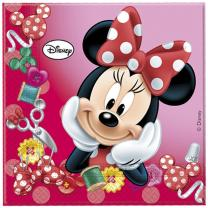 Servietten  Minnie Sweet 33 x 33 cm, 20 Stück