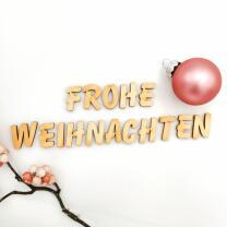 Holzbuchstabe - H Blockschrift in verschiedenen...