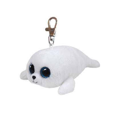 Ty Beanie Boos Glubschi Schlüsselanhänger Robbe - Icy  8,5 cm